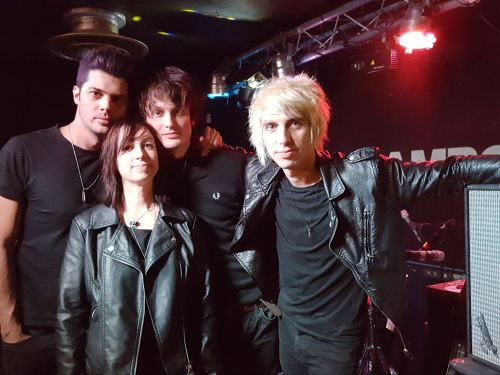 Jane with Trampolene