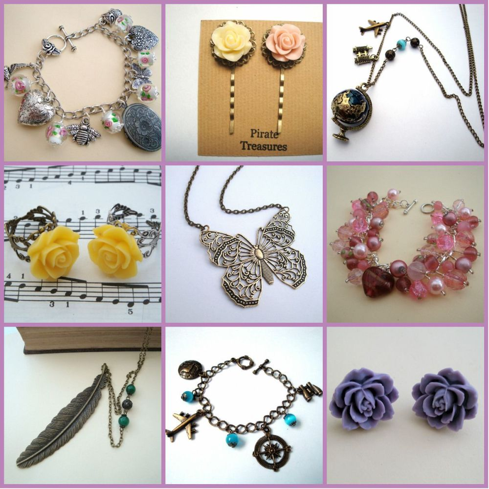 summer style Pirate Treasures Jewellery