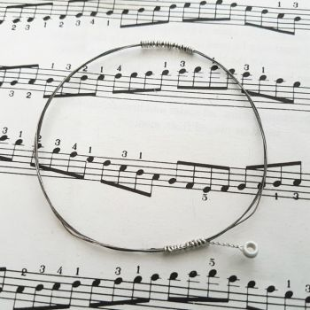 Guitar string bracelet bangle Size XS PD010