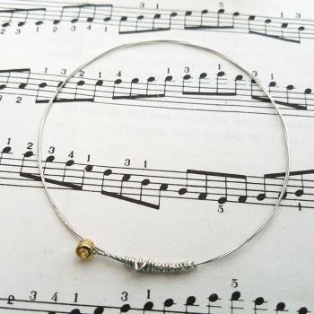 Guitar string bracelet bangle Size XS PD017