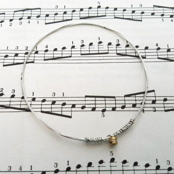 Guitar string bracelet bangle Size XXS PD021