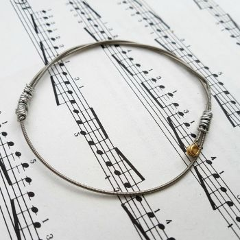 Jack Jones guitar string bracelet size S (70mm diameter) JJ017