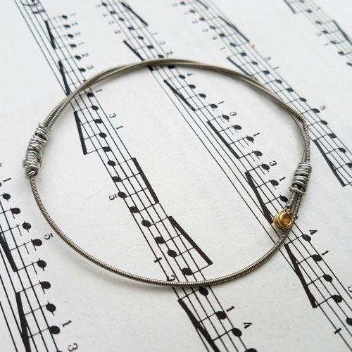 Jack Jones guitar string bracelet size S (70mm diameter) JJ017