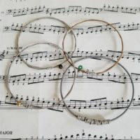 Guitar String Jewellery