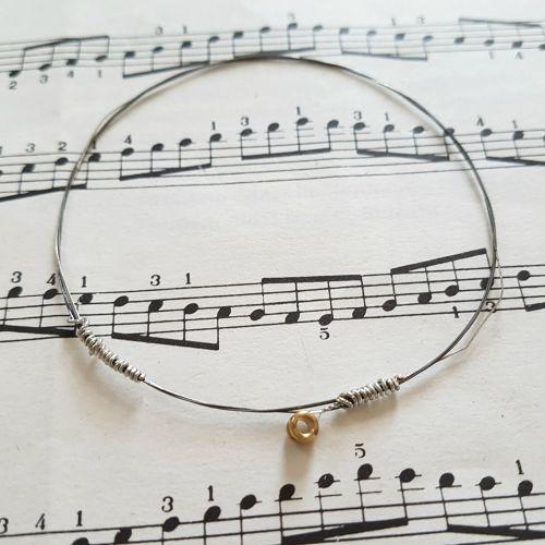 Jack Jones guitar string bracelet size S (70mm diameter) JJ025
