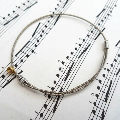 Jack Jones Trampolene guitar string bracelet Size XS (65mm diameter) JJ029