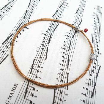 Jack Jones Trampolene guitar string bracelet Size L (80mm diameter) JJ032