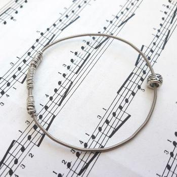 Wayne Thomas Trampolene bass guitar string bracelet size XXS (60mm diameter) WT009