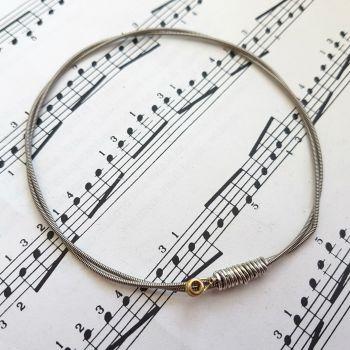 Jack Jones Trampolene guitar string bracelet size L (80mm diameter) JJ045
