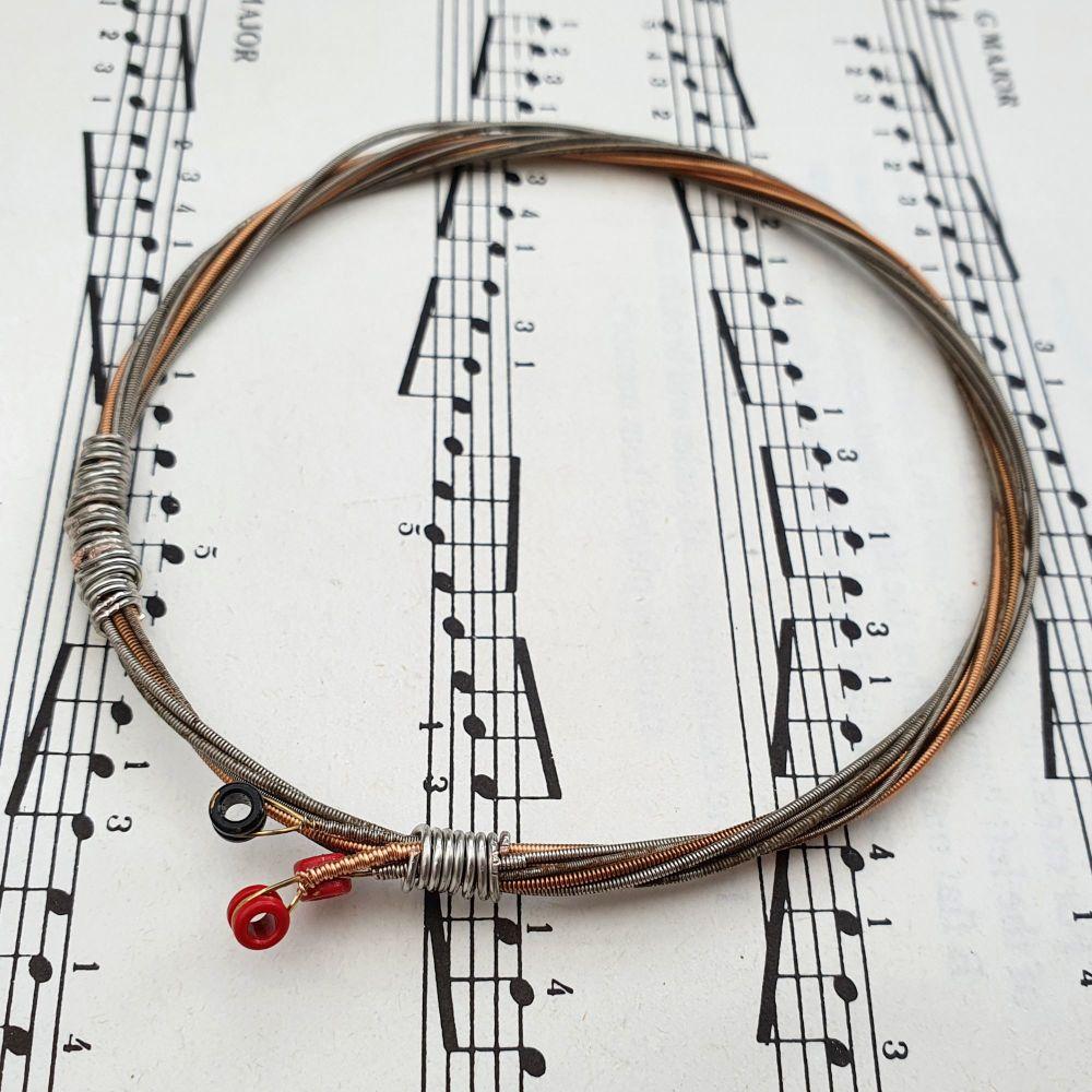 Guitar string bracelet Size L GSB021