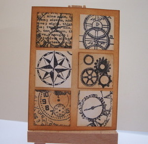 ACEO 14 Steampunk Inchies