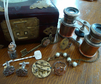 steampunk jewellery collection