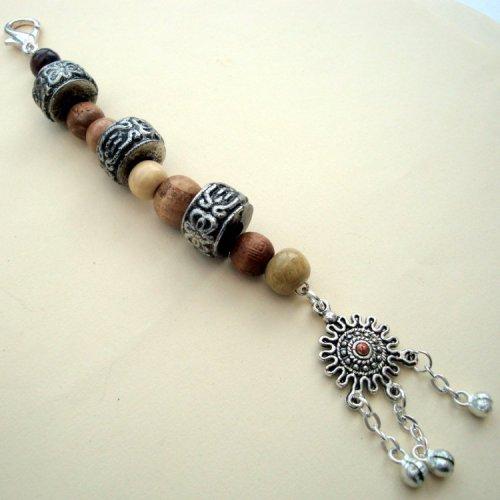 PBB004 Pirate bandana/hair beads