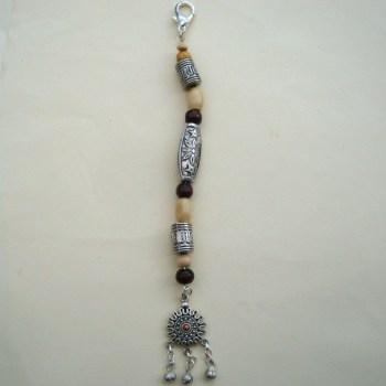 PBB008 Pirate bandana/hair beads