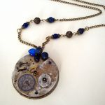 sn059 steampunk necklace