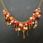 cn079 statement charm necklace 2
