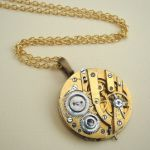sn067 steampunk necklace