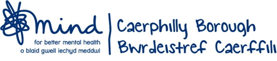 Caerphilly Borough Mind, site logo.