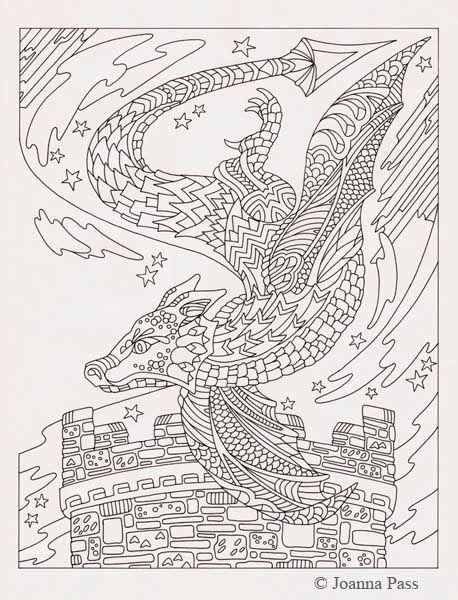circling dragon