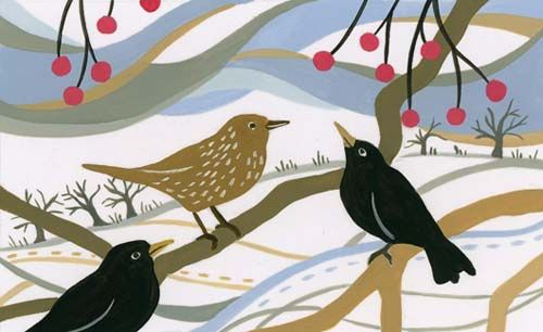 Winter Blackbirds