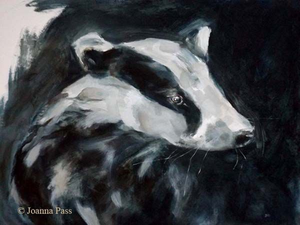 Badger painting