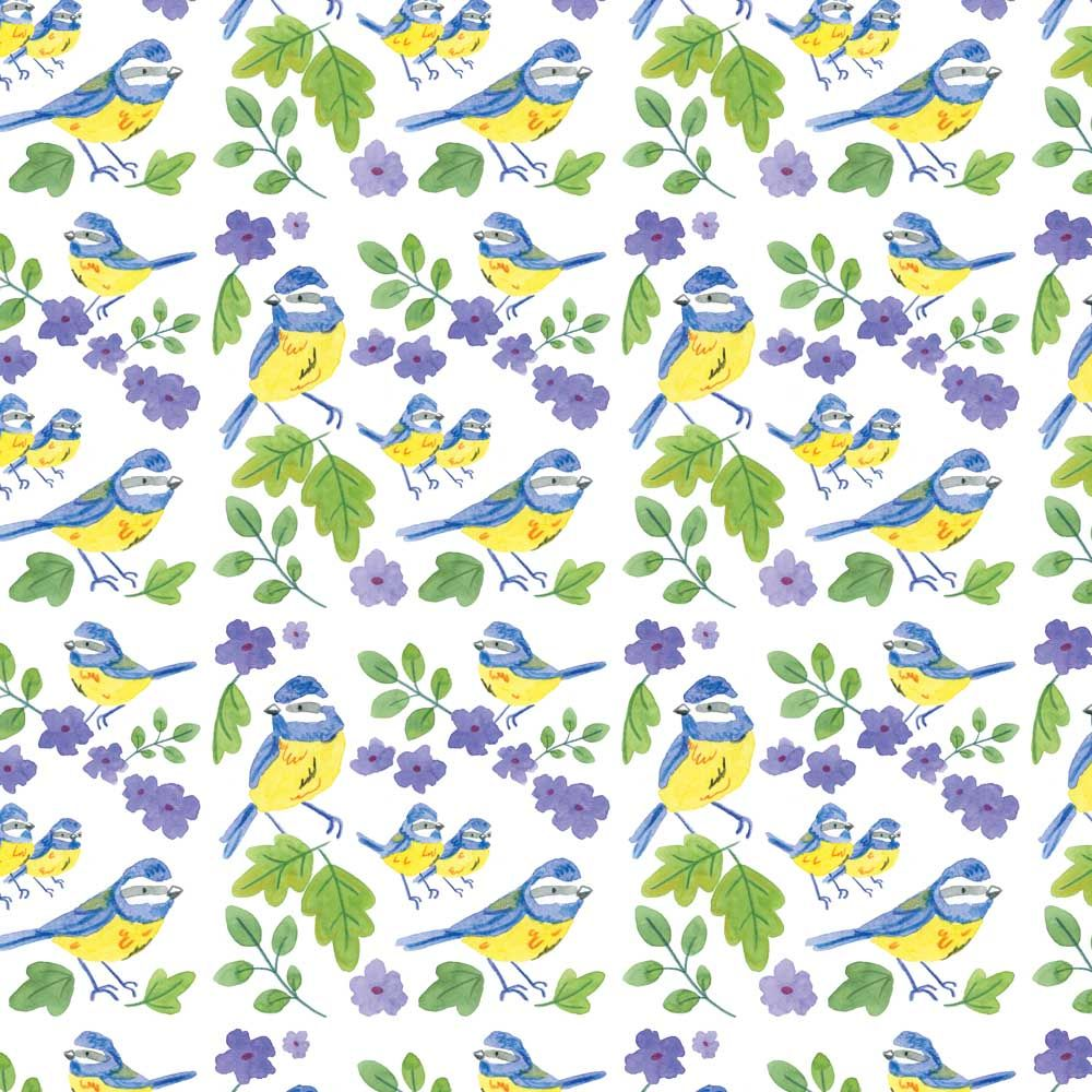 Blue-tit surface pattern