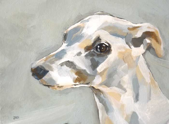 Painting of Greyhound