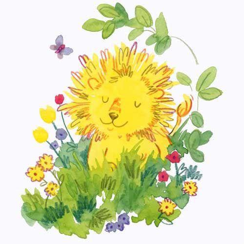 Blissful Lion