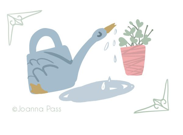 swan watering can