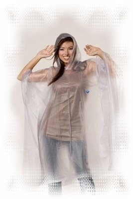 Adult Clear/Transparent Re-Usable PVC Ponchos