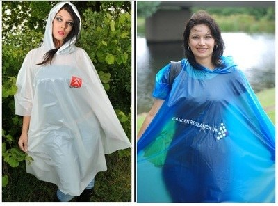 Promotional Re-Usable PVC Ponchos..Price on Application