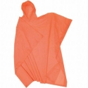 Adult Orange Re-Usable PVC Ponchos