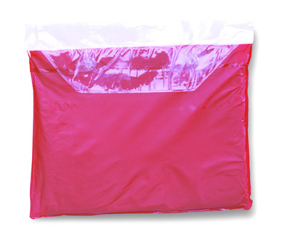 Adult Pink Re-Usable PVC Ponchos