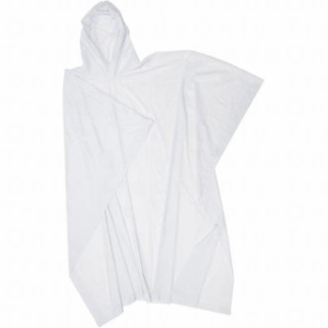 Adult White Re-Usable PVC Ponchos