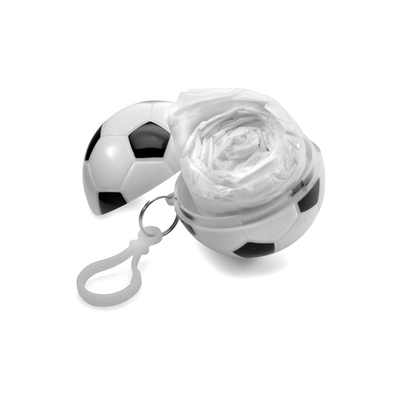 NEW! White Football Poncho Balls with Poncho