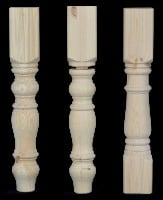 4.  115mm x 115mm Chunky Table Legs