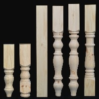 Good 88mm X 88mm Large Table Legs