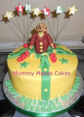 Meercat Birthday Cake