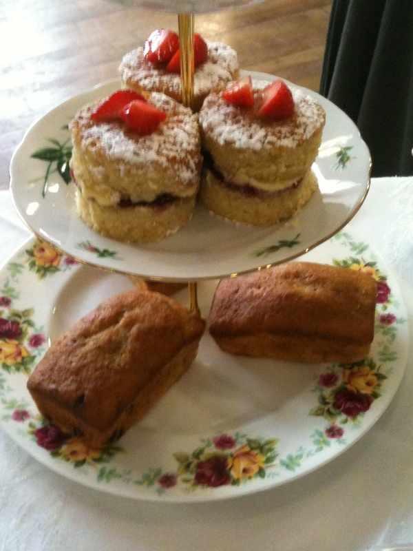 Mini Strawberry sponges & Mini Choc Chip loaves