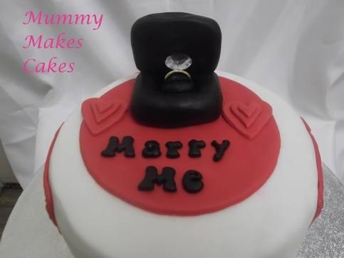 Marriage Proposal cake