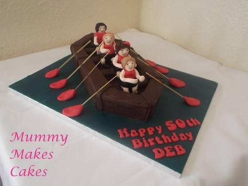 Rowing cake no. 2