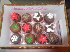 Xmas 2011 Box of Cake Bites