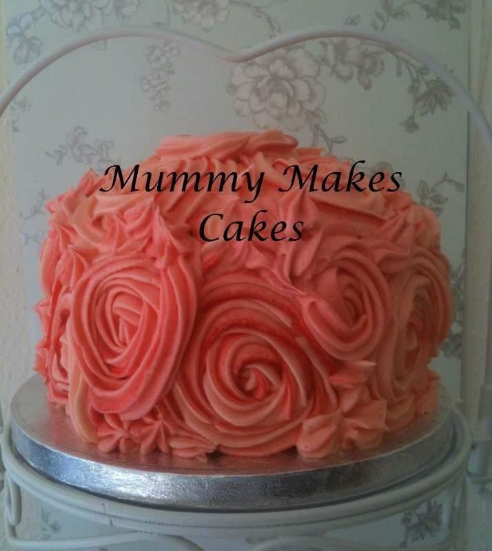 Buttercream auction cake for Dementia