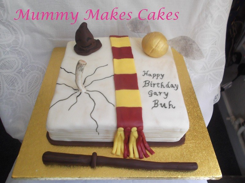Small Harry Potter cake