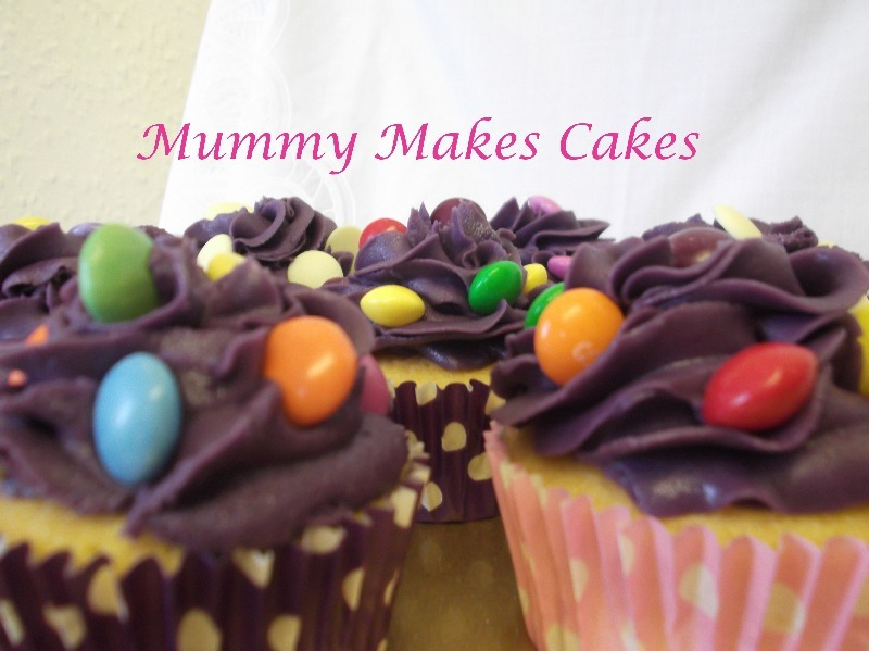 Smartie cupcake collection