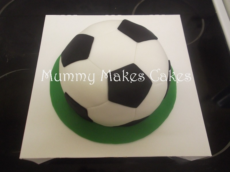 Football raffle cake donated to Stukeley Meadows Youth Football Club