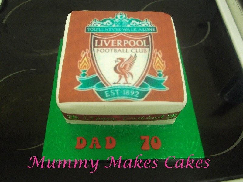 Liverpool FC Logo fruit cake