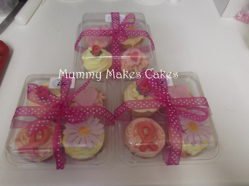 Charity Breast Cancer Cupcakes