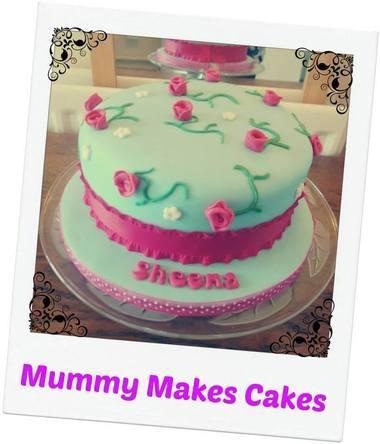 Cath Kidston themed cake
