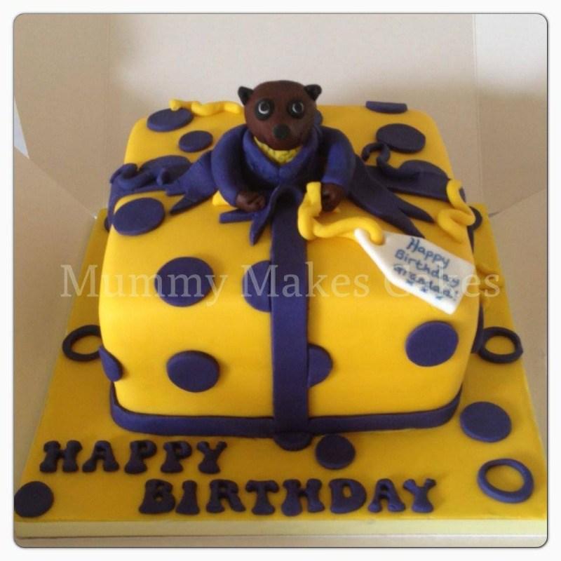 meercat pressie cake